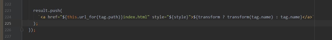 修改的代码